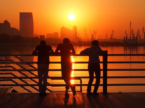 sunrise boulevard baku azerbaijan promenade aserbaidschan bulvar aserbajdsjan challengeyouwinner yourockwinner