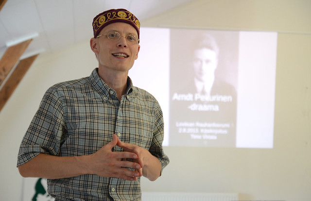 Arndt Pekurinen: objetor de conciencia