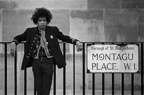 Hendrix at Montagu Place