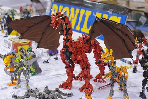 Vayland Dragon V3 at Brickfair VA 2013