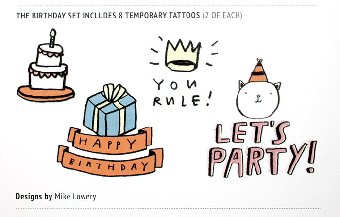 Tattly Birthday Set