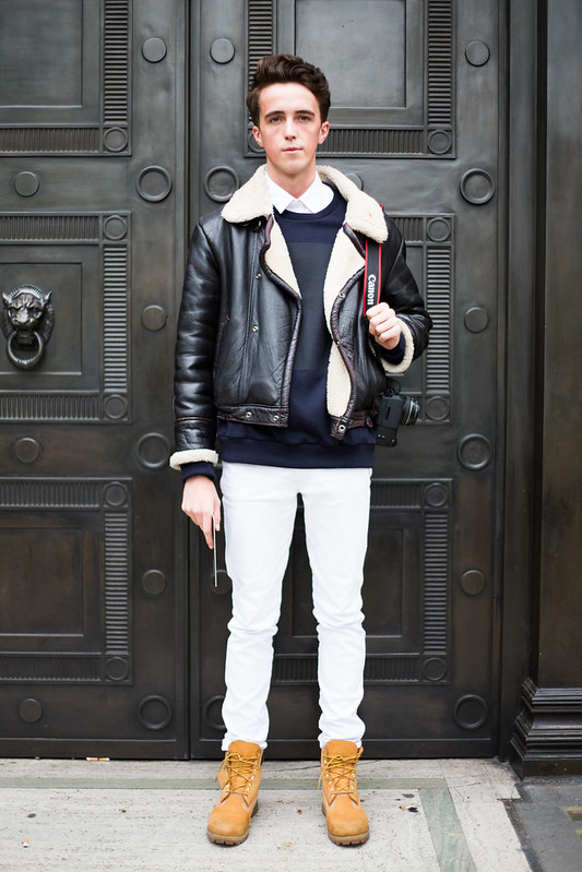 Street Style - Louis Sheridan, London Collections: Men