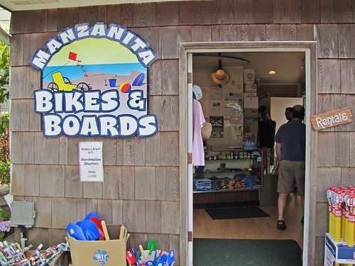 Manzanita bikes and boards
