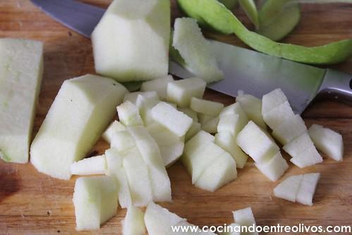 Gambones con manzana y leche de coco www.cocinandoentreolivos (3)