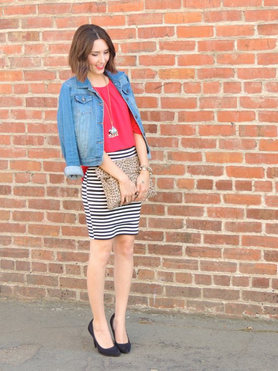 striped-skirt