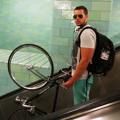 escalator-cyclist