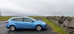 Rental Car and Sea Wall