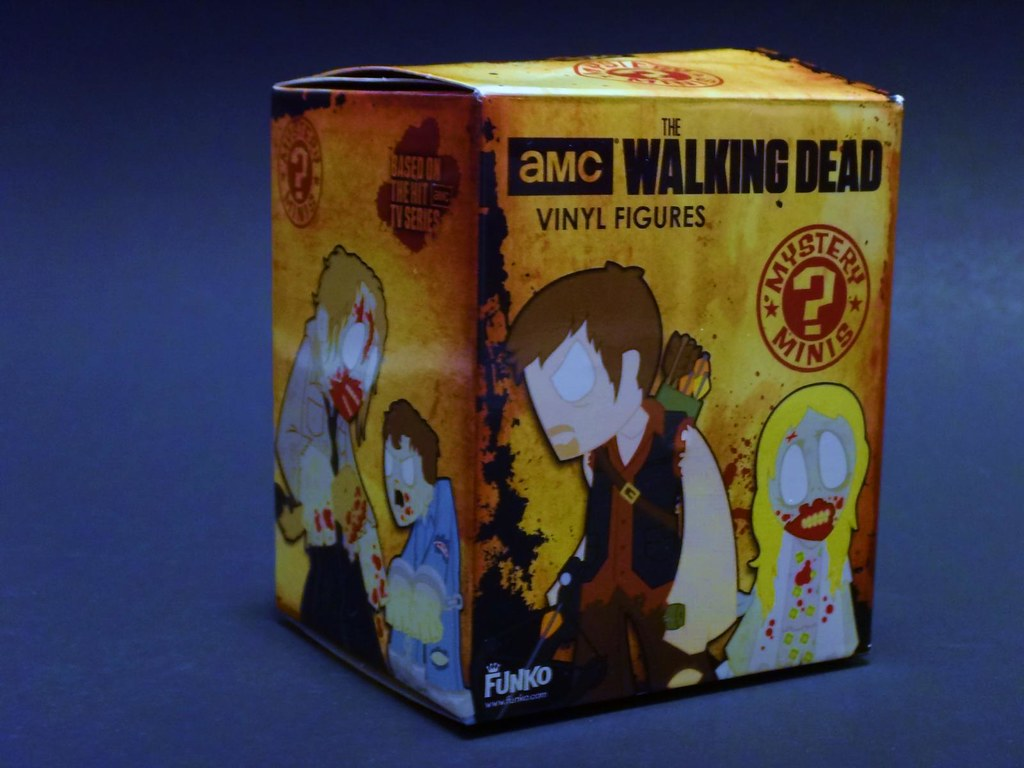 Loot Crate Cake August 2013 Funko Walking Dead