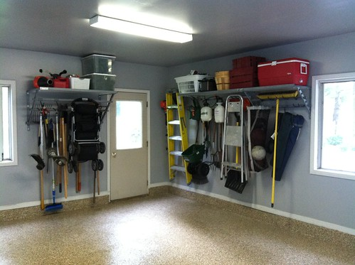 Everything In Its Place New Garage Organization With
