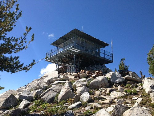 Mt. Ireland fire lookout tower
