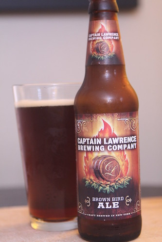 Captain Lawrence Brewing Company Brown Bird Ale