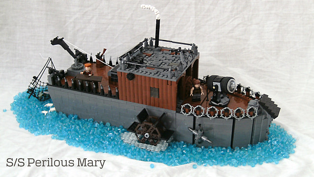 S/S Perilous Mary - Displayed (Full Color)