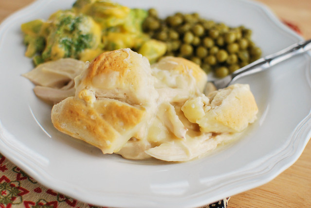 Chicken and Biscuits - only 5 ingredients! This is a family favorite!