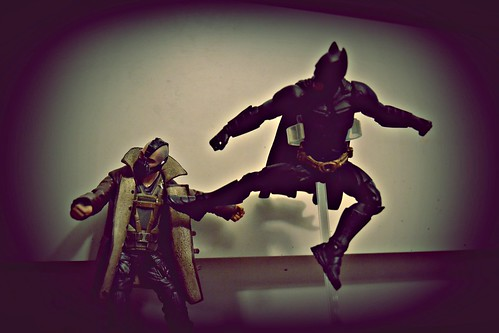 The Dark Knight vs Bane