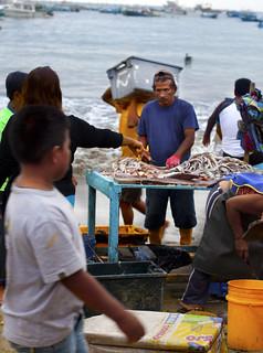Puerto Lopez fish market