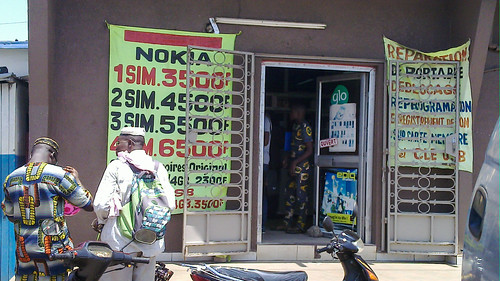 Nokia phones on sale in Cotonou