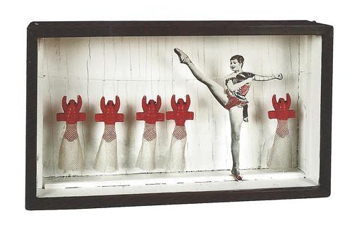 Joseph Cornell, Untitled (Zizi Jeanmaire Lobster Ballet), c. 1949