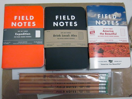 Field Notes!