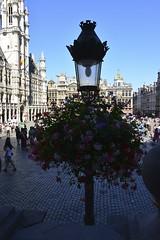 Un des réverbères de la Grand Place