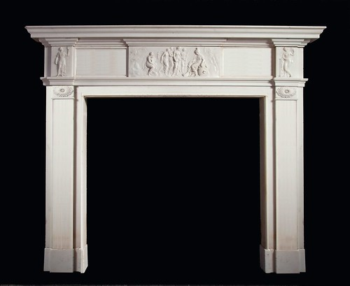 Marino marble fire surround by stephencritchley