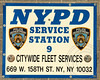 NYPD Police Service Station 9 - Citywide Fleet Services, Manhattan, New York City