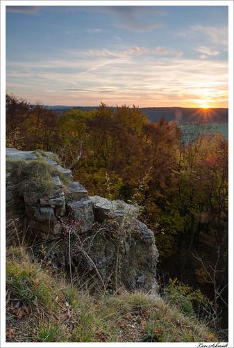 sunset sky forest landscape sonnenuntergang natur himmel wolken landschaft wald hitech eichsfeld ndgrad kanstein 09reverse