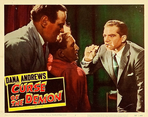 Curse of the Demon (Columbia, 1957). Lobby Card (11