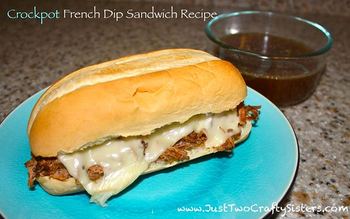 Simple Crockpot french dip recipe