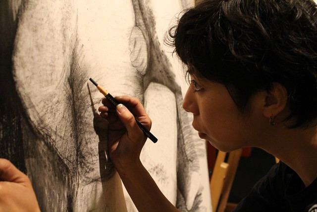 Maiko Kitagawa enthralls with her hauntingly dark art works