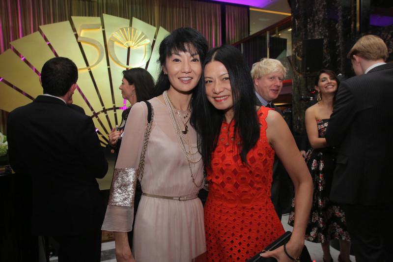 Maggie Cheung Vivienne Tam at MOHKG Gala Oct 17.jpg