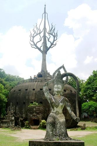 Vientiane 2007-Bouddha Park (2)