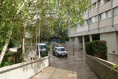 quartier boieldieu, puteaux, police municipale