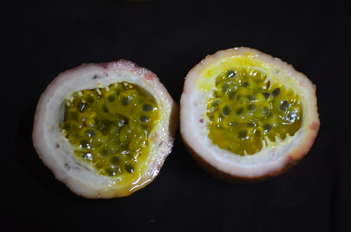 Nigerian passion fruit pod