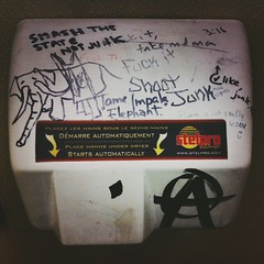 punk rock hand dryer