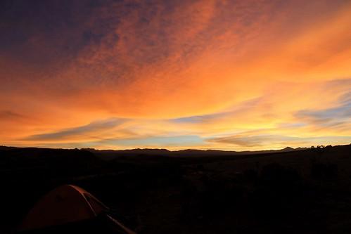 camping sunset peru cycling great bikes dirt biking andes pikes ayacucho divide trocha sañayca