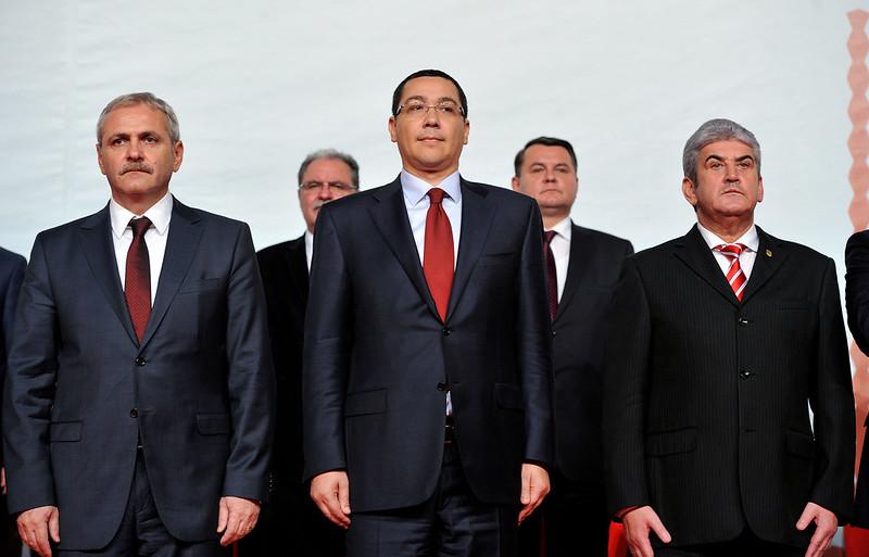 Victor Ponta si Liviu Dragnea la Liga Alesilor Locali ai PSD, Palatul Parlamentului