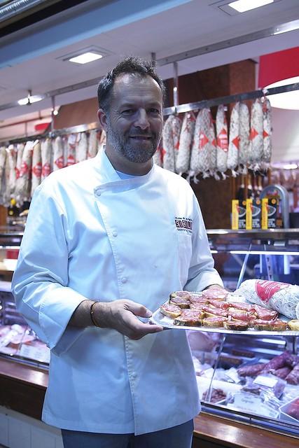 Chef Bruno Bluntzer, Charcuterie Sibilia - Les Halles de Lyon