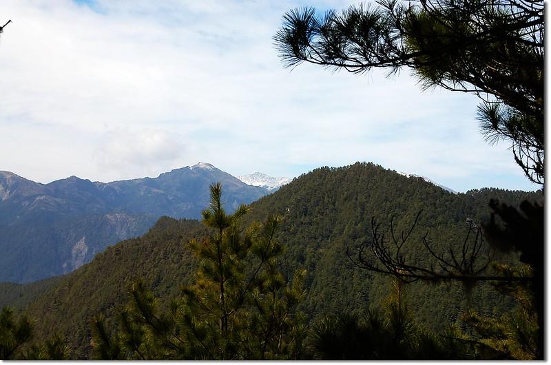馬博橫斷山群(From 2935峰西北鞍部)