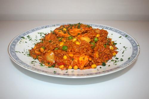 Hähnchen-Paella / Chicken paella
