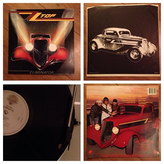 "261113_ #np ""Eliminator"" by ZZTop #vinyl"