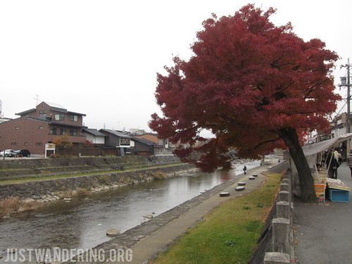 By the riverside at Takayama