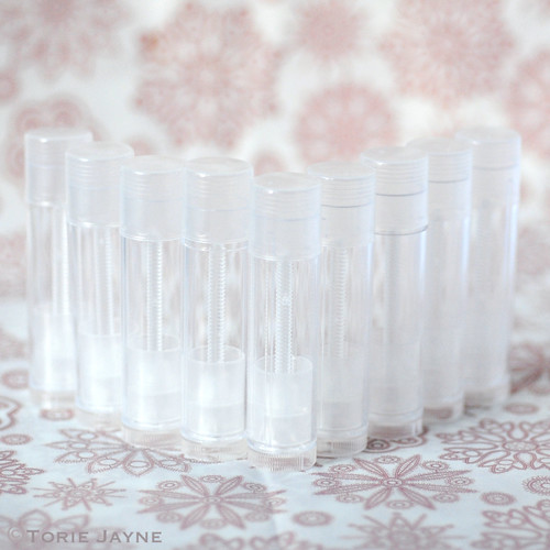 DIY Transparent lipstick Tubes 6g