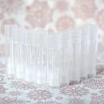 DIY Transparent lipstick Tubes 6g