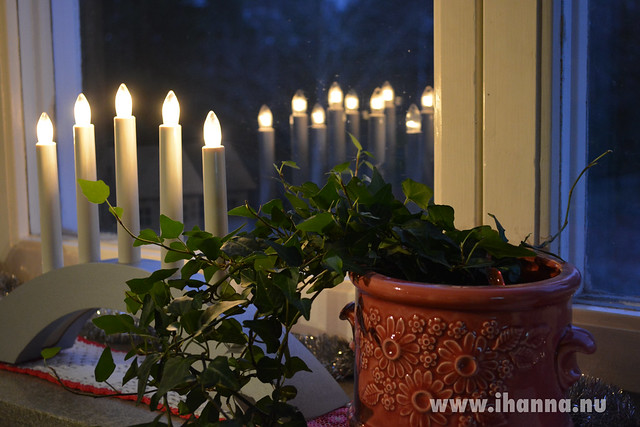 In my Window in December (Copyright Hanna Andersson)