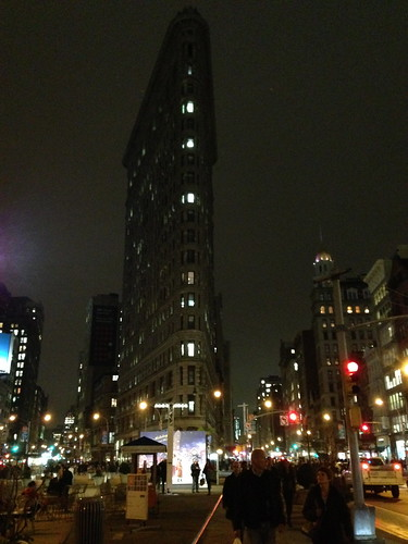 The prowlike Flatiron Building