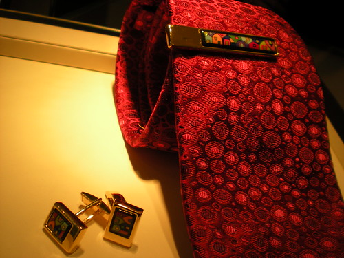 Frey Wille Tie, Cufflinks and Tie Clip