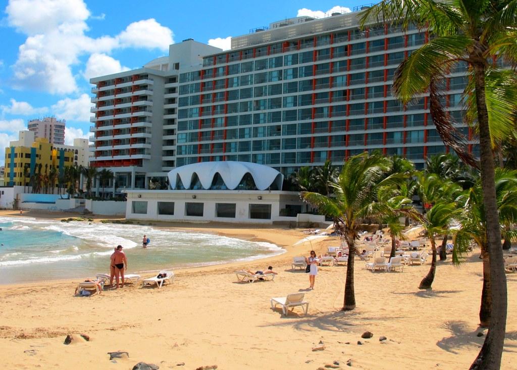 La Concha-Beach-Hotel-Puerto Rico