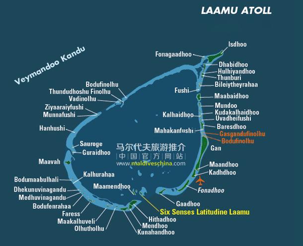 马尔代夫Laamu环礁
