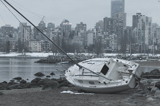 Washed-up Sailboat 2