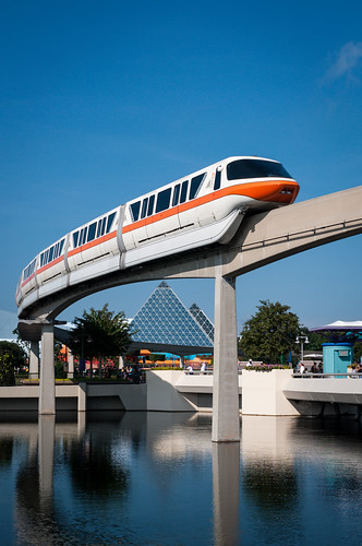 Monorail Monday - Between a Rail and a Monorail by Jeff.Hamm.Photography